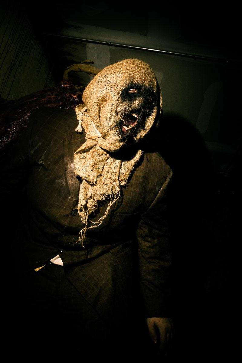 Haunted House Sack Head Freak