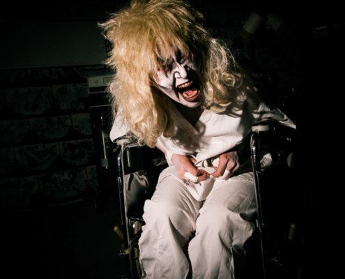 Haunted House Wheelchair Freak