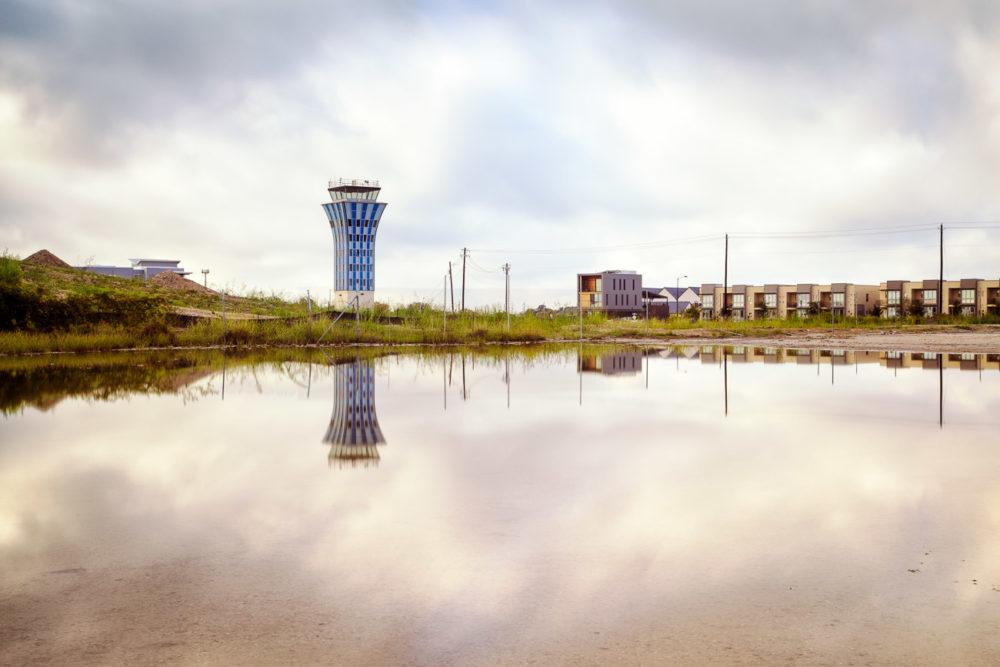 Mueller Airport Control Tower (Color Photo), Austin TX