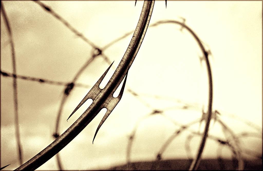 containment-razor-wire-fine-art-photo-mi
