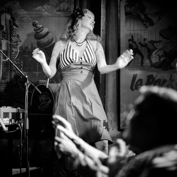 Dancer at The Continental Club, Austin TX.