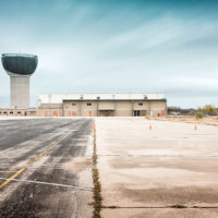 Mueller Water Tower Austin TX Color Photograph