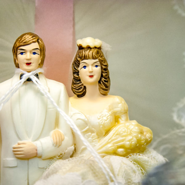 Bride and Groom with a Noose